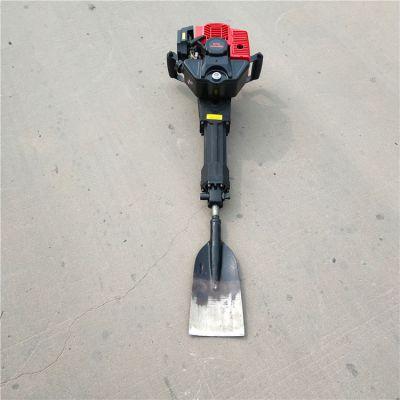 新款便携式挖树机单人移树机功能齐全