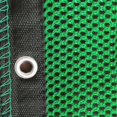 直销散料防风抑尘网 高密度阻燃防风抑尘网 绿色焦化场挡风抑尘墙