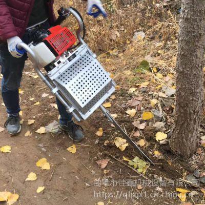 铲头式苗圃起树机 便携式起苗机厂家 佳鑫手提断根机
