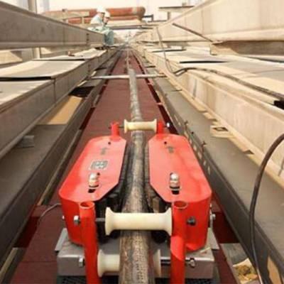 电缆输送机 电缆牵引机 电缆敷设机履带式电缆传送机 线缆输送机180型