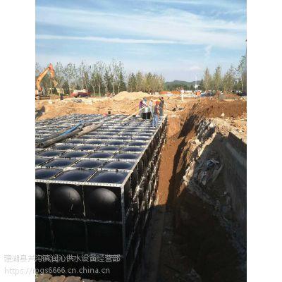 盐城润平供水设备抗浮地埋箱泵一体化