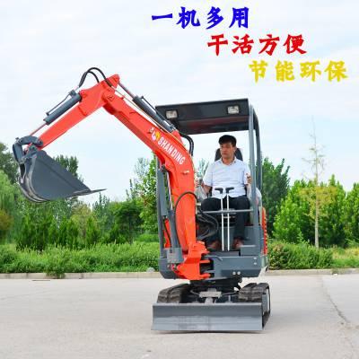 郴州农用果园挖土机 多型号小型挖掘机定制