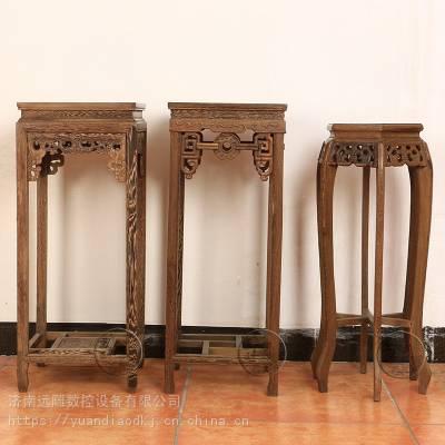 远雕数控实木花架雕刻机你想要的都给你