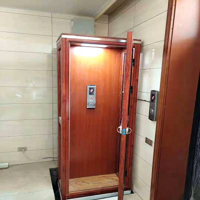 定制无障碍家用电梯、小型家用电梯、液压式别野阁楼电梯、观光电梯、厂家免费安装