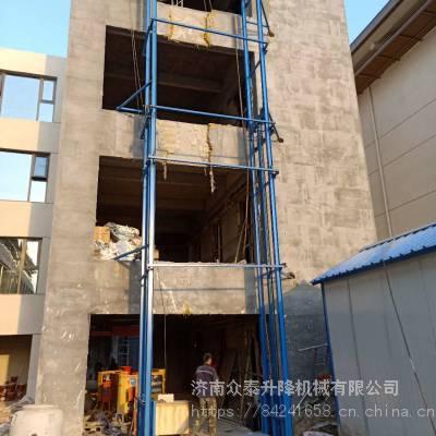 航天SJD导轨式升降机 2米×2米载重3吨升降货梯 工业工厂货梯 全国安装