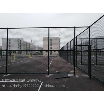 供应郑州学校单位体育场护栏网 篮球场勾花围网 运动场围栏网现货