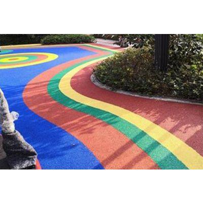 小区公园绿道人行道 混合型塑胶跑道 新国标塑胶跑道 聚氨酯塑胶跑道 小学塑胶跑道 学校橡胶跑道
