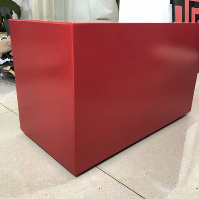 红色氟碳铝单板 酒店吊顶铝单板