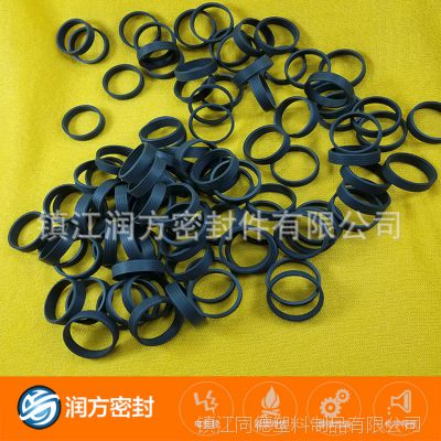 电磁阀机械密封圈:耐磨损 机械强度高 聚四氟乙烯PTFE填充碳纤维