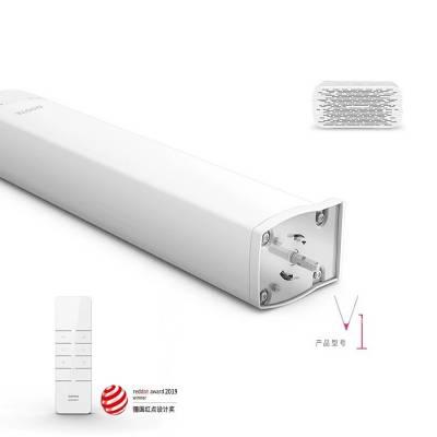 北京杜亚智能电动窗帘语音控制V1天猫精灵控制杜亚窗帘电机批发价格