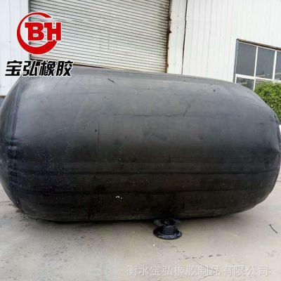 宝弘加工桥梁板橡胶气囊 隧道涵洞专用充气芯膜 圆形橡胶封堵器