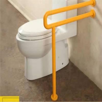 养老院卫生间扶手老人安全防滑 河北厕所马桶扶手 尼龙树脂扶手厂家
