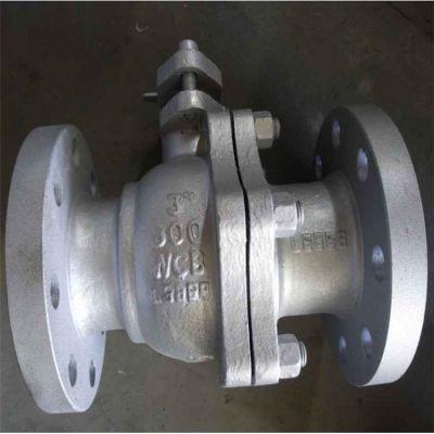 泰州【厂家批发】Q41F-16P轻型 重型不锈钢304材质国标法兰浮动式球阀