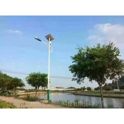 河北保定6米太阳能路灯价钱1000元一套 龙江厂家当天就发货(一级资质)