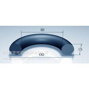 供应OR568阀门用耐腐蚀橡胶耐低温SIL密封圈FEP包覆X-RING/V-RING/V型组合