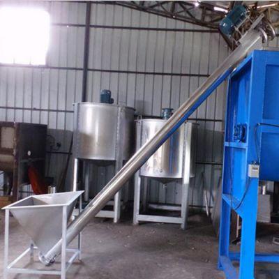 滨州 砂石加厚管壁螺旋提升机 叶片螺杆输送机厂家