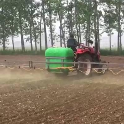 农用拖拉机悬挂式打药机 高效率三点悬挂喷雾器 12米喷幅打药机使用视频