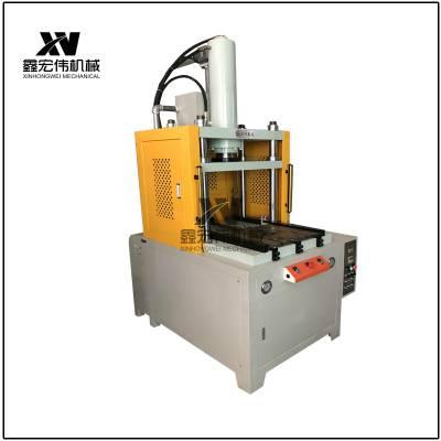 定制80T滑台式液压机 电机行业压装冲压专用四柱液压机
