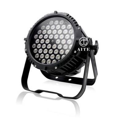 艾特光电 54颗3wLED防水帕灯 舞台灯 光户外染色灯 亮化灯