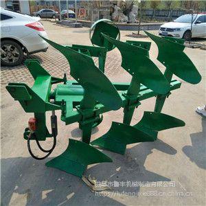 黑龙江省佳木斯市铁麒麟四轮牵引式液压翻转犁 3铧犁厂家价格