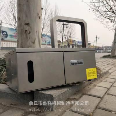 广东佛山小型冥币打捆机 LQ-2218捆烧纸设备 扎把机鲁强机械