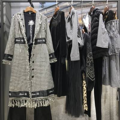 一线品牌女装 戛纳巨式时尚女装 品牌折扣批发 广州石井品牌折扣女装货源