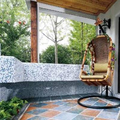 瓷砖水刀拼花-内蒙古山和建材-餐厅瓷砖水刀拼花