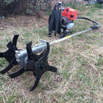 优质高效手持式汽油割草机 背负式果园园林割灌机