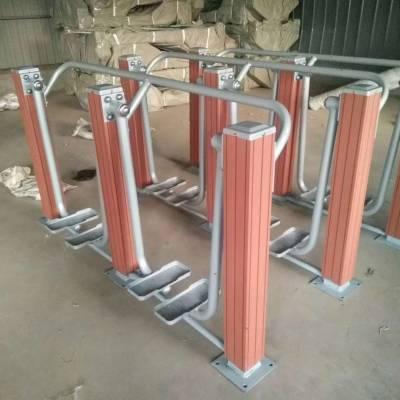天津客户定做的精致塑木健身器材