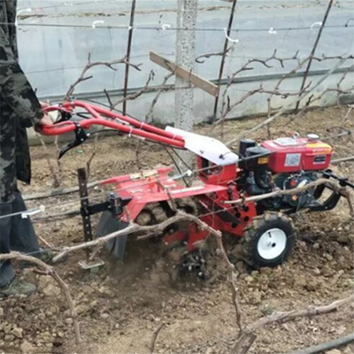 金银花基地疏松旋耕机 四驱后旋式开沟微耕机用途广泛