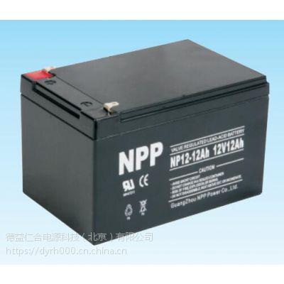 原装耐普蓄电池NP12-12 (12V12AH)