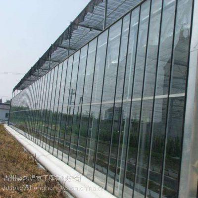 草莓大棚骨架厂价直销 玻璃温室制作 图纸报价镀锌管12