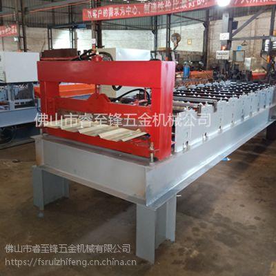 佛山压瓦机厂家,睿至锋生产彩钢压瓦机
