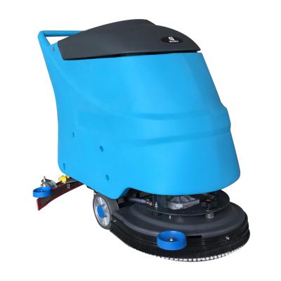 润洁洗地机RJ-X20 工厂车间硬质地面清洗洗地机手推洗地车