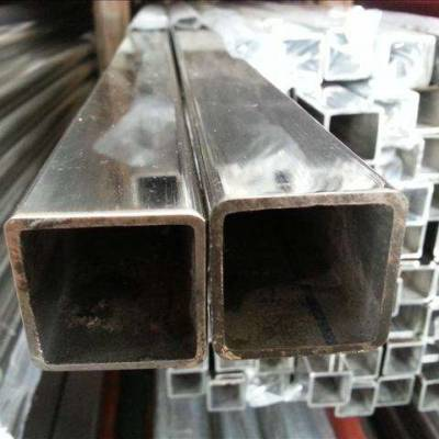 益阳现货150*150*6.0机械构造用矩形管 广州304不锈钢方通厂家
