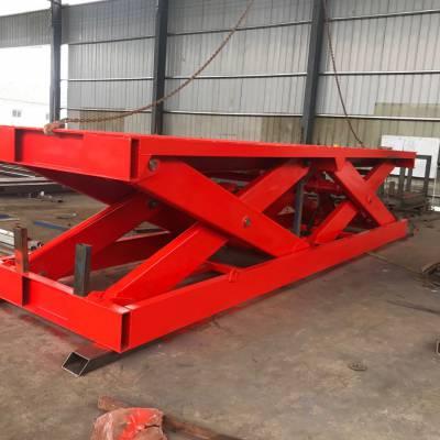菏泽工厂升降货梯 卸车升降平台 10吨集装箱升降机 航天厂家定制
