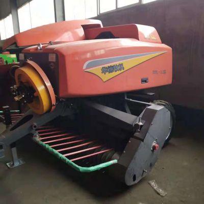 设备推荐 玉米秸秆粉碎打捆机 青贮饲料打包机 方捆秸秆打捆机 鸿磊机械