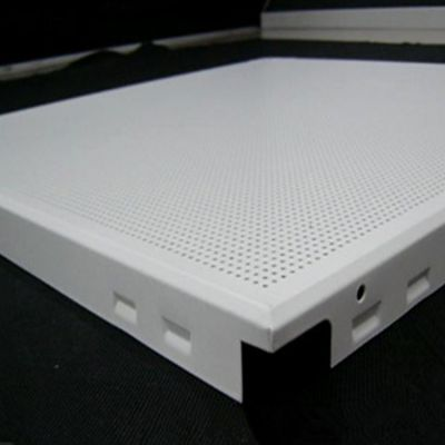 帝欣工程铝扣板600*600板生产厂家批发 工装冲孔铝扣板 镂空铝扣板雕花铝扣板