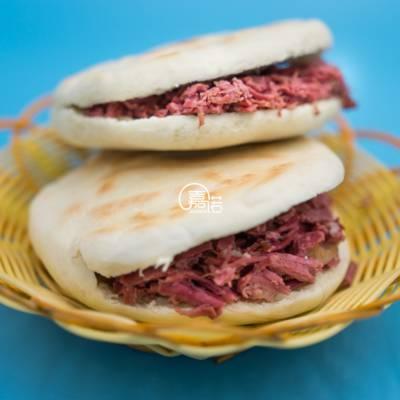 正宗肉夹馍加盟 西安腊牛肉夹馍凉皮技术加盟