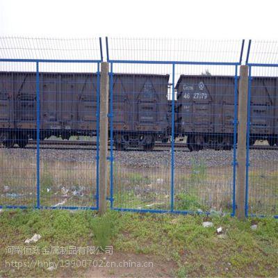 厂家直销双边丝铁路护栏网 公路桥梁防抛网 农场养殖场院墙隔离网