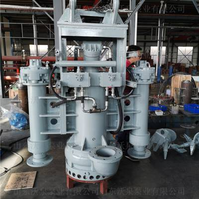 松花江沃泉大流量泥浆泵 高浓度抽沙泵 高效率沉淀泵