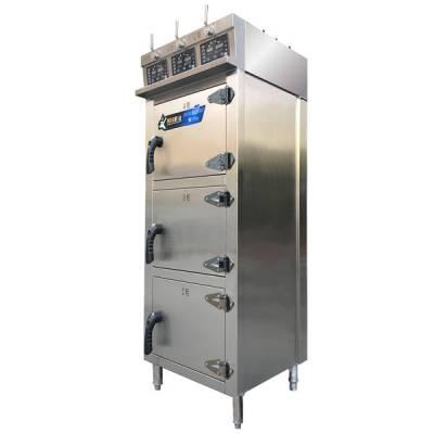 蒸快厨房设备(图)-多功能蒸饭柜-蒸饭柜