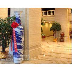 西安青花瓷花瓶销售、景泰蓝花瓶、红瓷富贵大花瓶