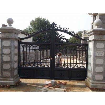 铝合金护栏铝合金大门、别墅护栏、别墅大门、铝艺大门,庭院护栏、三门峡