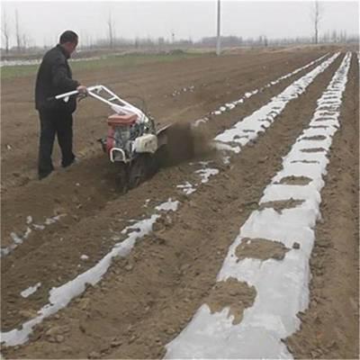 小型开沟机轻便 蔬菜大棚开沟起垄机 羊肚菌盖土机