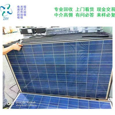 光伏电池板厂家回收-光伏电池板回收-振鑫焱光伏板回收厂家