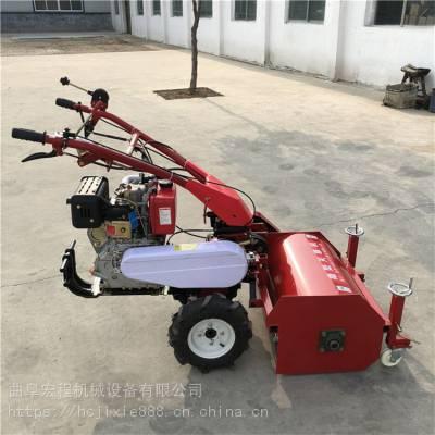 柴油178型碎草机 湖南湘西自动割草机 宏程制造割草碎草机厂家