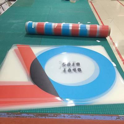 厂家高端UV亚博体育阿根廷合作定制透明玻璃贴背胶彩白彩UV亚博体育阿根廷合作装饰贴纸定制