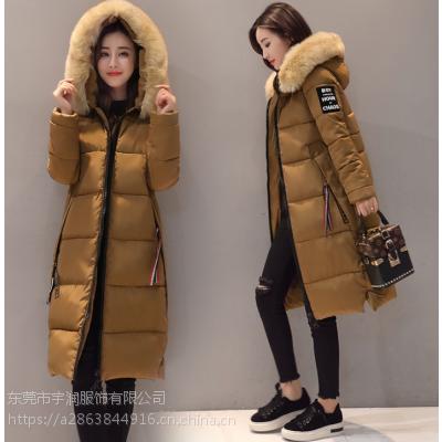 杭州厂家清货韩版羽绒服库存服装便宜女士棉衣女装上衣棉服处理低价清