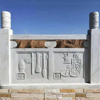 详谈辨别石雕栏杆是否是天然石材制作的方式